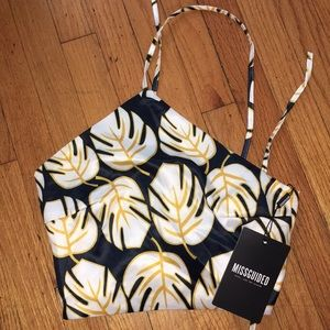 NWT missguided crop top